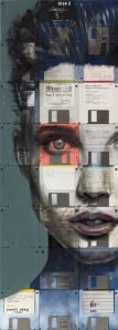 floppy disk mm portrait