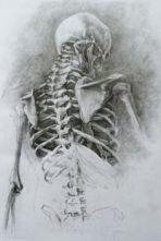 skeleton figure ground mix