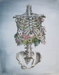 skeleton floral