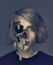 skeleton portrait