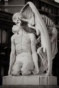 skeleton sculpture