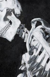 skeleton shoulder zoom in