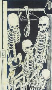 skeleton sin your closet