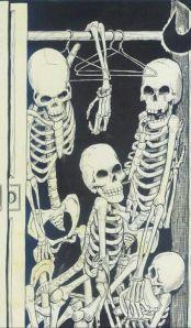 skeleton sin your closet