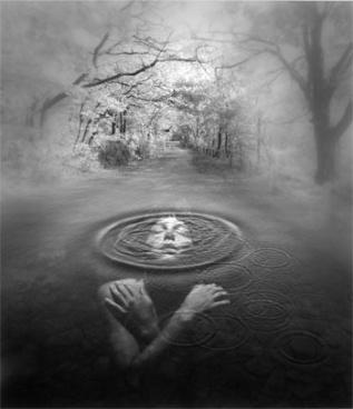 above below water