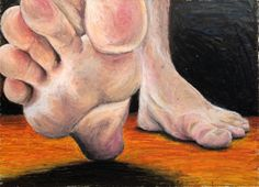 beneath the feet