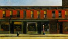 early-sunday-morning edward hopper