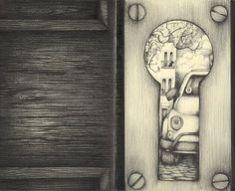 inside outside the keyhole