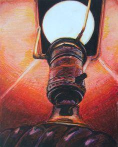 inside the lamp