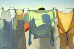 through the laundry