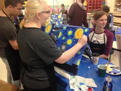 northern high school art club ptg party 1