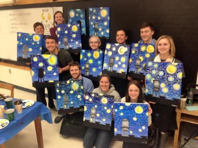 northern high school art club ptg party