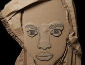 cardboard face 2
