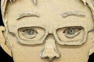 cardboard face 4