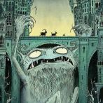 Nicola Robinson Billy Goats Gruff Illustration Troll Under the Bridge