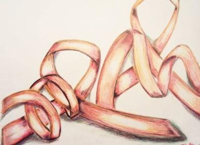 pick ribbon diagonal