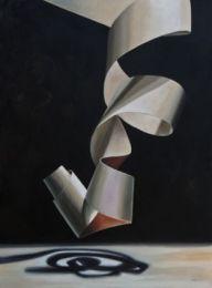 ribbon painting