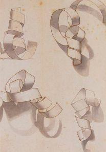 ribbon sketch
