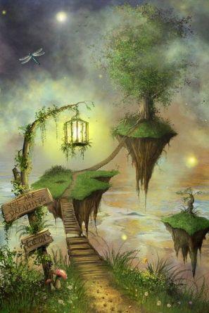 tree house floating