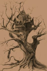 tree house sketch 3