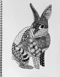 Zentangle Animal - Julianne Joven