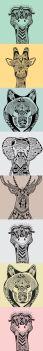 zentangle animals
