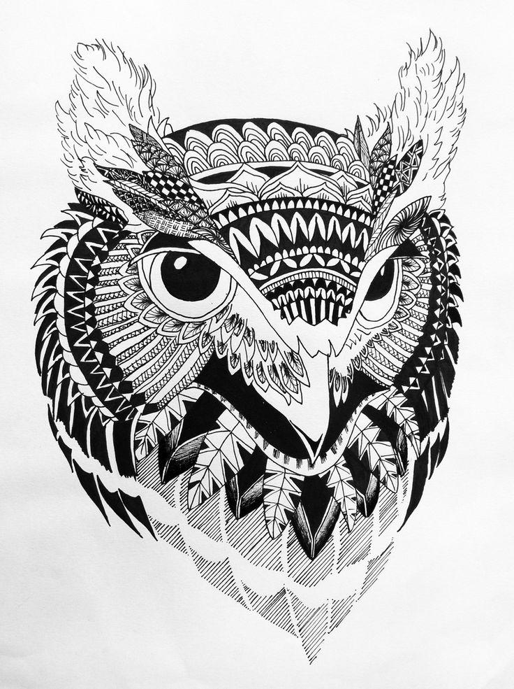 Sketchbook No1 Zentangle Animal