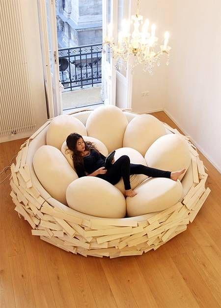 birds nest chair