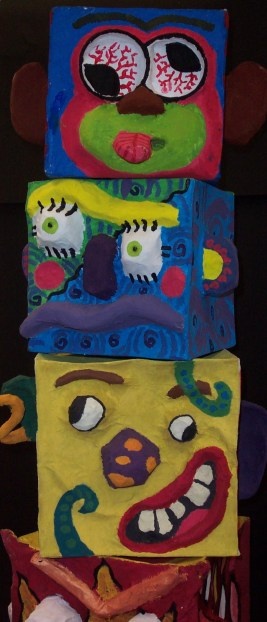 Character Totem (detail)