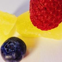 blueberry + raspberry + pineapple 4