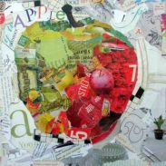 collage apple