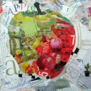 collage apple