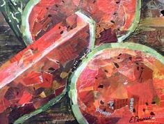 collage watermelon