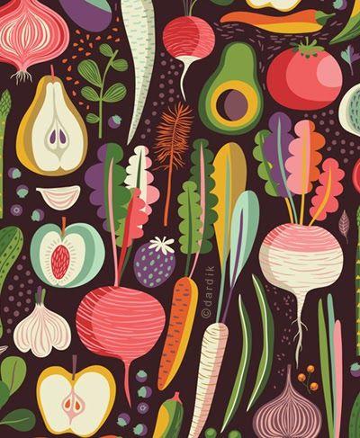 helen dardik - an abstract pattern