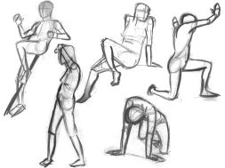 gesture drawing 2
