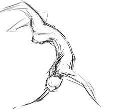 gesture for sculpture