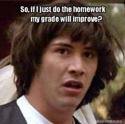 homework meme 2