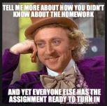 homework meme 4
