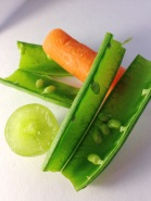 peas + carrot with grape 2