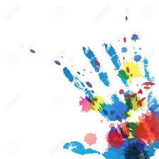 splatter hand
