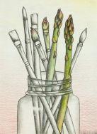 paintbrush asparagus