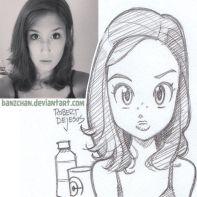 freckle girl
