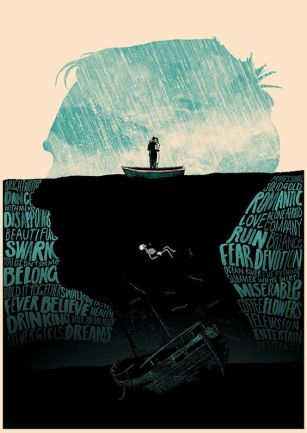 head in water poster