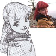 scottish girl