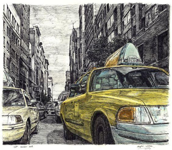 stephen wiltshire taxi cab