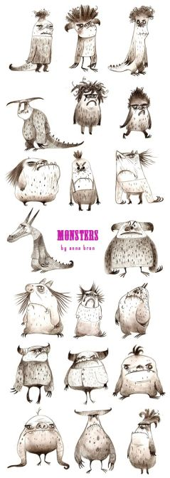 Anne Bron Monsters Collection