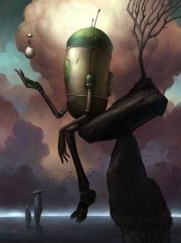 Brian Despain Robot with Egg
