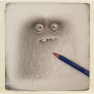 hairy monster creation