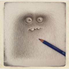 hairy monster creation