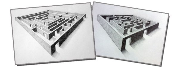 3dmaze2pointperspective
